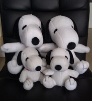 Wholesale 2014 new arrive high quality cute snoopy white dog plush doll toy colors black and white gift for kids