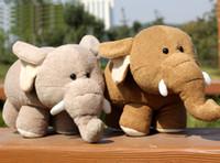 Wholesale cm quot RUSS Elephant stuffed animal toys Cute Small Elephant plush toys kids gift