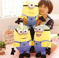 Wholesale Despicable Me inch cm styles new Despicable Me Minion Plush Doll toys D eyes childrens gift hot sale