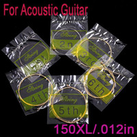 Wholesale 6pcs set XL in Acoustic Guitar Strings I61 Drop Shipping