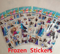 Wholesale Frozen Design Kids Classic Toys Cute toy Stickers sheet set Awards Children s gifts