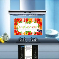 Cheap Hot Sale!1 pcs 45*75cm Vinyl Art Wall Stickers Vegetables Mural Home Decor Decorate Your Kitchen High Quality Wall Paper