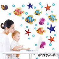 Wholesale Cartoon children room sitting room the bedroom setting wall stickers