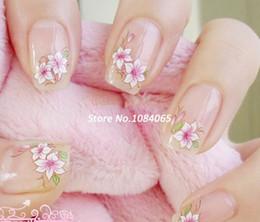 2014 10 de la Feuille de Mélange de Fleurs 3D Nail Art Sticker Fleurs Décalque de l'Eau Tatouages Temporaires Filigrane 4511 b003 à partir de feuille de métal arts fabricateur