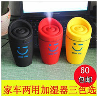 Wholesale Car Car Aroma humidifier anion humidifier in addition to smell clean air humidifier car