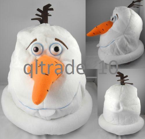 Как сделать маску для снеговика
