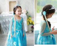TuTu Summer A-Line Fantastic Frozen Dress Children Clothing Girl Elsa Princess Dress Long Sleeves Summer Baby Frozen Dresses Kids Wear