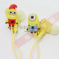 For Samsung cute mp3 earphone - Cute Cartoon Despicable Me Style Earphones Hot In Ear Earphone Cheap Headphone Headset for Mp3 Player Iphone