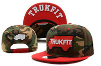 Ball Cap Red Man Wholesale - TRUKFIT 2TR Snapback Cotton 3 Colors Cross Skateboard Adjustable Hats Mix Order Free Shipping