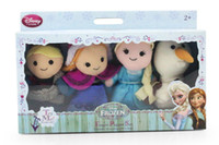 Wholesale High Quality Frozen Princesses Elsa And Anna Finger Puppets Gift For Kids
