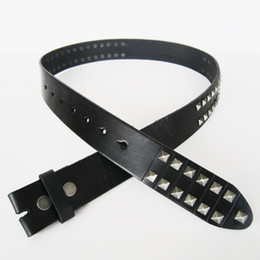 Classic Black Studded Solid Real Leather Genuine Leather Belt Men Leather Belt Gurtel Boucle De Ceinture