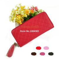 Clutch Wallets Women Fashion Hot Sale PU Leather fashion Handbag designer Lady wallet Day Clutch Purse Evening Bag 5 Colors B2 13819