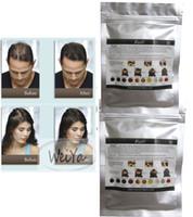 Wholesale 10 colors Treatment Solutions for Keratin Building Men Hair Loss Women Thinning Powder g Hair Fibers Refill Bag Factory OEM
