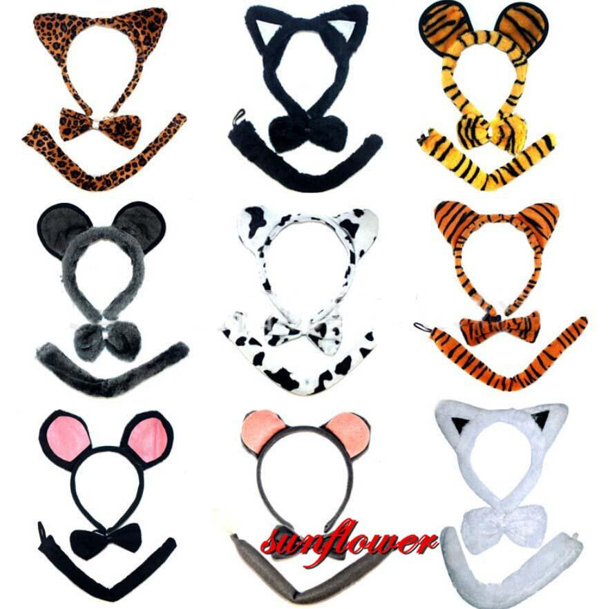 Bow Tie Halloween Costume Bow Tie Tail Set Halloween