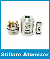 Replaceable Electronic Cigarette Atomizer Stainless Steel Rebuildable Clone RDA RBA 28MM 26650 Stillare V2 Atomizer for Mechanical Electronic Cigarette Vaporizer atomizer ATB073