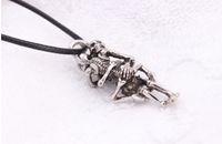 Wholesale Artilady New Skull Men s Necklace Fashion Titanium Steel Necklace Men Jewelry Declaration Of Love