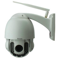Outdoor ptz wifi wireless ip camera - Sricam AP005 Wireless H P HD x Optical Zoom PTZ IP Camera P2P Outdoor PTZ Camera P2P Wifi Security IP Camera CCTV Camera