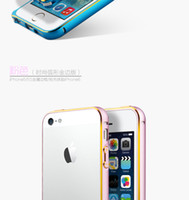 Wholesale 2014 New Border MM Phnom Penh Aluminium Metal Bumper Frame Uitra for iphone G S iphone G Smetal curved a border