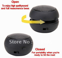 Wholesale 200pcs portable Hamburger mini Speaker for PC and MP3 MP4 player mobile phone