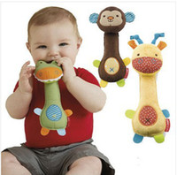 baby soft toys wholesale - lovely Baby bed bell toy style hand grasp bell soft baby calm doll baby toys