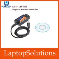 Wholesale ELM327 USB Interface OBDII OBD2 Fault Diagnostic Auto Car Scanner