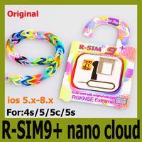 Wholesale DHL free Original RSIM9 nano cloud universally compatible FOR ios x x s C S R SIM9 R SIM Plus Sprint Verizon ATT T mobile