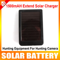 Wholesale Hunting camera extend solar charger solar battery charger hunting equipments hunitng products for S680 HC HT series hunting camera