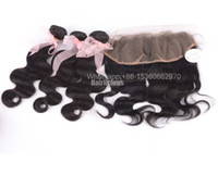 Body Wave best brazilian hair company - Hairlicious Company Best Quality A Human Hair Weft Brazilian Virgin Hair Bundles Mix Piece x4 free part Lace frontal closures