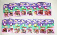 Cheap Unisex DIY Bracelet Best 5-7 Years Multicolor Rainbow Rubber