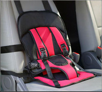 Wholesale Blue Red Years Old Children Baby Car Safety Seats Cushion Comfortable Travel Sitting