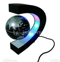 Wholesale Novelty Games Magnetic Suspension Globe with LED Light Magnetic Levitation Floating Globe for Home Table Decoration Christmas Best Gifts