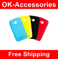 Wholesale Housing Cover Replacement Battery Door Back Cover Rear High Quality For Nokia Lumia N710 PC