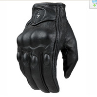 Wholesale 2014 new Touch Goatskin gloves motorcycle gloves cross country Knight motorcycle racing gloves have kinds Punch and not Punchsize M L XL