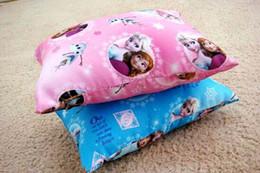 Wholesale Frozen Elsa Anna Princess Pillow Cushion for Kids Cartoon Snow Queen Sleeping Naps Adults TP31