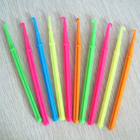 Wholesale Mixed Colours Hot Loom Bands DIY Bracelet Making Kit Mini weaving Crochet Hook Size U Pick TZA008 TZA009