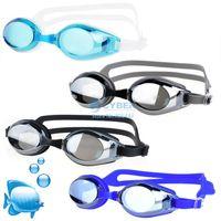 Wholesale Adult Non Fogging Anti UV Swimming Goggles Speedo Swim Glasses Adjustable UV Protection Colors SV004373