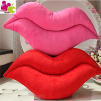 Wholesale OP Hpp Lgg brand big pillow lips plush toy Chair Cushion Red Lip Pillow sex toys Car Seat birthday gift dolls