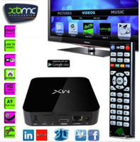 Wholesale XBMC G BOX Midnight MX2 CS838 Dual Core Android4 Smart IPTV TV BOX Media Player Amlogic MX Dual Core Cortex A9 GB GB p