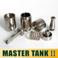 DHL free !!! Master Tank II Drip Atomizer Stainless Steel Dr...