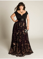 Reference Images Sweetheart Chiffon 2014 New A Line Tulle Evening Dresses With Appliques Black Sash Capped Sleeves Plus Size Long Formal Prom Special Occasion Gowns W4005 Top