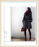Winter Cotton Long 2014 drop shipping Maternity clothes wholesale autumn and winter cloth coat female hubble-bubble sleeve woollen overcoat