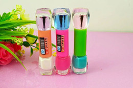 Wholesale high range double end bright nail polish bright color pure color nail polish