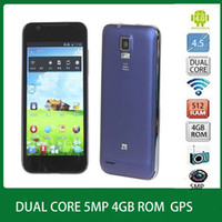 WCDMA Dual Core Android ZTE V955 4.5 inch IPS android 4.0 Qualcomm MSM8225 dual core CPU Dual sim card RAM 512M 4GB ROM GPS WIFI Bluetooth Smartphone