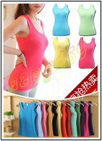 Wholesale fashion female condole belt stretch vest camis sexy women tank tops sleeveless T shirt sports fitness running vest bottoming shirt
