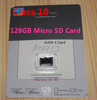 Wholesale PRO GB GB C10 Micro SD TF Memory Card Free SD Adapter Retail Blister Package microSD SDHC G G Card free drop shipping