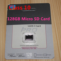 Wholesale PRO GB GB C10 Micro SD TF Memory Card Free SD Adapter Retail Blister Package microSD SDHC G G Card free honkongpost dropshipping