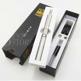 Wholesale New Electronic cigarette MIGO in kit for dry herb and wax ego evod battery extrusion tip migo atomizer clearomizer e cigarette e cig