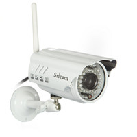 Wholesale 720P HD P2P Bullet Outdoor IP Camera wifi Wireless Security Camera Waterproof Night Vision IR m Lens mm built in IR cut
