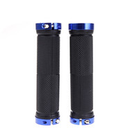 bmx bike - 5 pairs Alumnium Alloy Double Lock Handlebar Grips for Outdoor Sports Cycling Mountain Bike MTB BMX Bicycle H10913