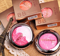 Wholesale Palma Christie Mineralize Powder Blush Face Cheek Blusher BB Baked Ice cream10Colors Charming Long lasting Face Blush High Quality Cheek